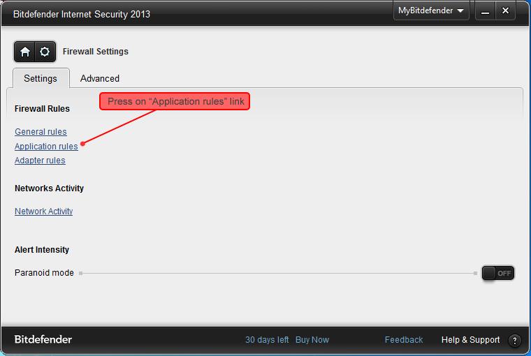 How to configure Bitdefender Internet Security to work ...