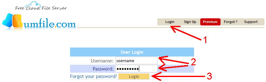 How to configure IDM to work with Lumfile site?