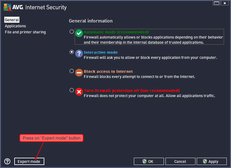 how to change firewall settings in windows 7 for idm