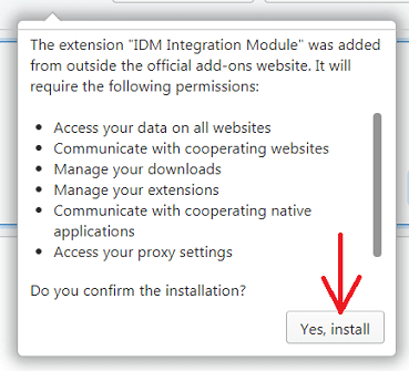 IDM integration into Opera does not work  What should I do?