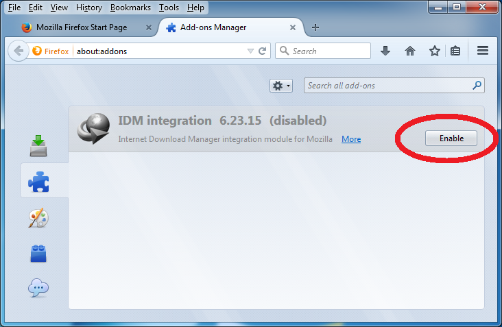 inter  download manager integration guide for firefox