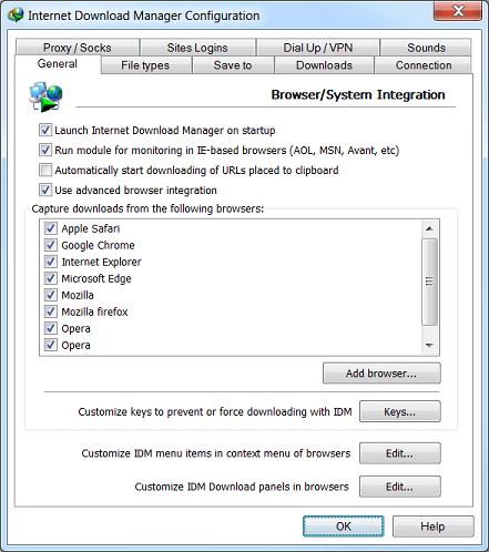 internet download manager proxy server